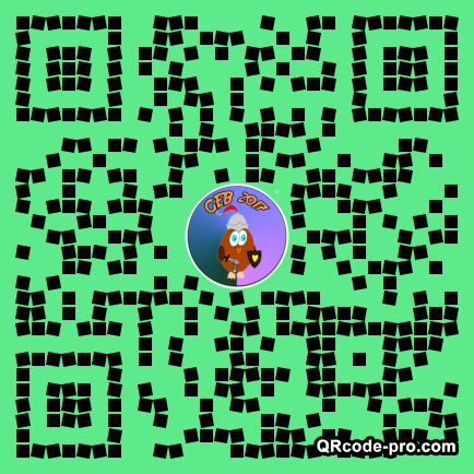 QR code with logo 1aiD0