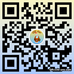 QR code with logo 1ajl0