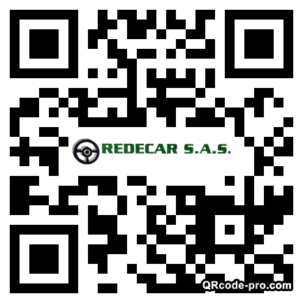 QR code with logo 1aqz0
