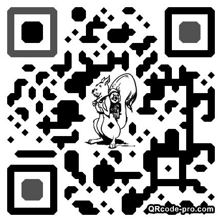 QR code with logo 1asv0