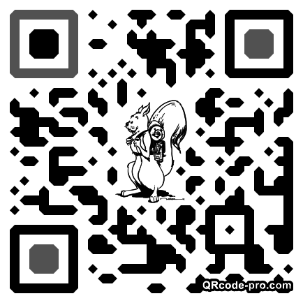 QR code with logo 1asz0