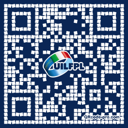 QR code with logo 1b3z0