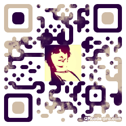 QR code with logo 1b7h0