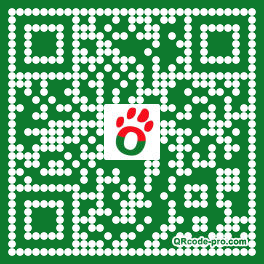 QR code with logo 1bJ00