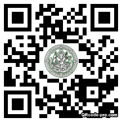QR code with logo 1bMW0