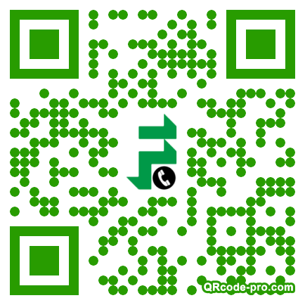 QR code with logo 1bN30
