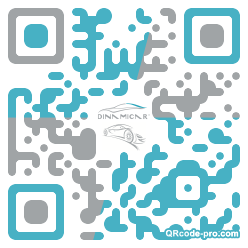 QR code with logo 1bOd0