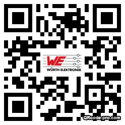 QR code with logo 1bUe0