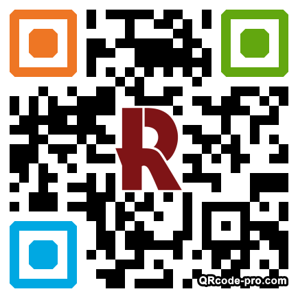 QR code with logo 1bV10