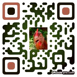 QR code with logo 1bZ30