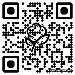 QR code with logo 1bbq0