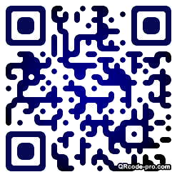 QR code with logo 1bp30