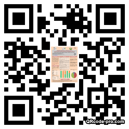 QR code with logo 1br80