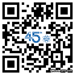QR code with logo 1bs80