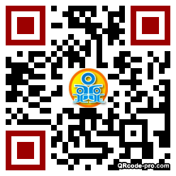 QR code with logo 1cEr0
