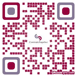 QR code with logo 1cZe0