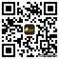 QR code with logo 1cax0