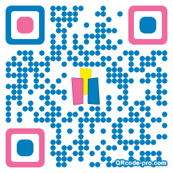 QR code with logo 1cld0