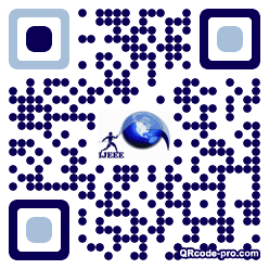 QR code with logo 1cmR0