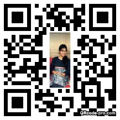 QR code with logo 1cp50