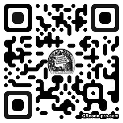 QR code with logo 1cw70