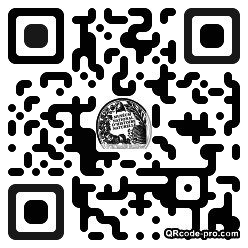 QR code with logo 1cw80