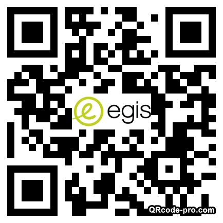 QR code with logo 1d5W0