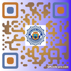 QR code with logo 1dUf0