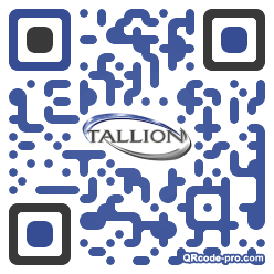 QR code with logo 1dow0