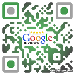 QR code with logo 1dp10