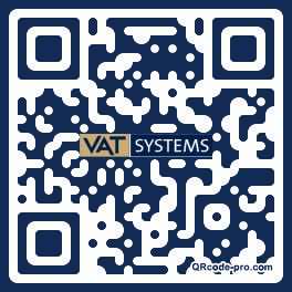QR code with logo 1dp30
