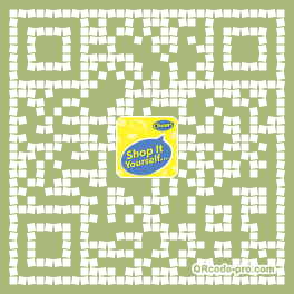 QR code with logo 1dqe0