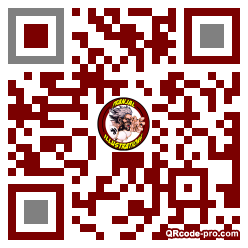 QR code with logo 1dwd0