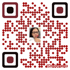 QR code with logo 1dwo0