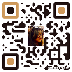 QR code with logo 1eMO0