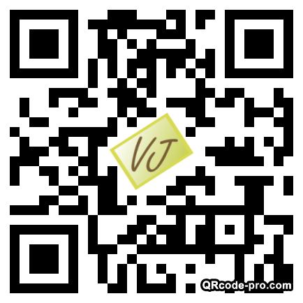 QR code with logo 1eOo0
