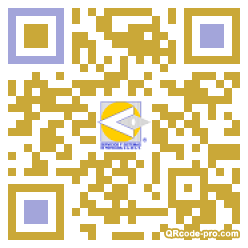QR code with logo 1eRM0
