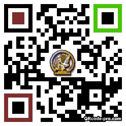 QR code with logo 1eez0