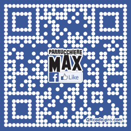 QR code with logo 1esq0