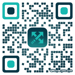 QR code with logo 1evc0