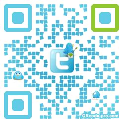 QR code with logo 1f8x0