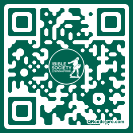QR code with logo 1fDR0