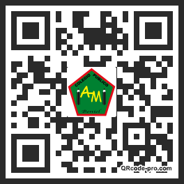 QR code with logo 1fRM0