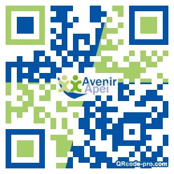 QR code with logo 1fWG0
