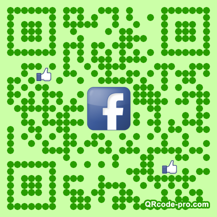 QR code with logo 1fZr0