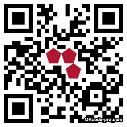 QR code with logo 1fm10