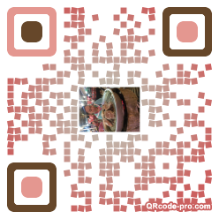 QR code with logo 1fr90