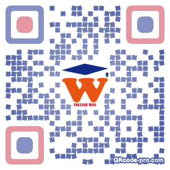 QR code with logo 1ftx0