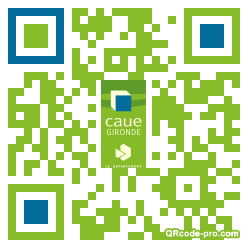 QR code with logo 1fvu0