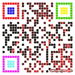 QR code with logo 1fza0